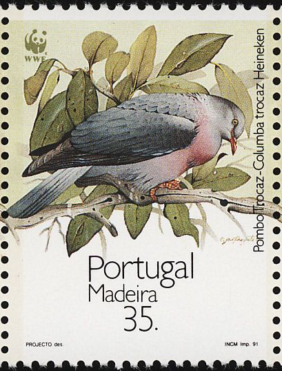 Trocaz Pigeon stamps - mainly images - gallery format