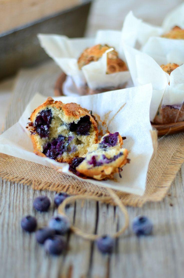Muffins aux myrtilles {les meilleurs} - Recette facile et rapide à faire à la maison