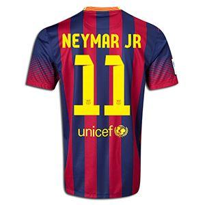Nike Neymar Barcelona Home Jersey 13/14