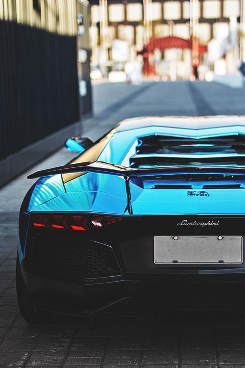 Blue Chrome LP760-4 Aventador