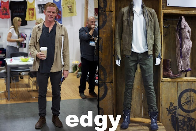"""Upcoming fashion trends for the guys! Shown at the Las Vegas """"Magic Trade Show"""". Get these 3 looks: Casual, Edgy, and Dressy!"""