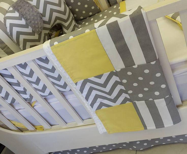 Stunning patchwork Cot Blanket