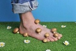 Soigner une mycose des pied naturellement