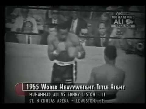 ▶ Muhammad Ali vs. Sonny Liston II (1965) [FULL FIGHT] - YouTube