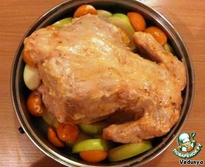 Курица, фаршированная по-еврейски ингредиенты