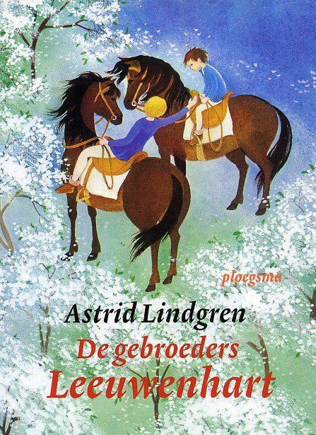 De gebroeders Leeuwenhart, Astrid Lindgren. In de boeken van A.L. kon ik als kind echt helemaal opgaan in een andere wereld.