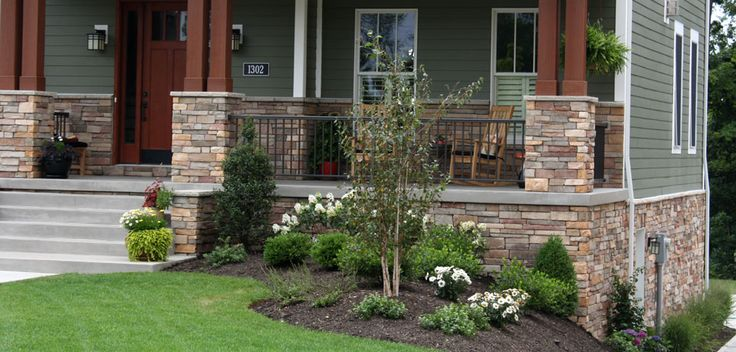 Brick And Stone Home Photo Gallery Caramel Country