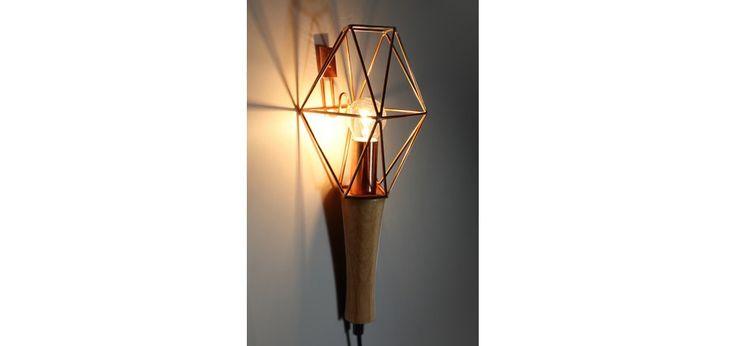 Lampe baladeuse Hedda cuivre : optez pour nos lampes baladeuses Hedda cuivre - RDV Déco