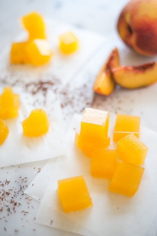 Recipe: Peach and Rooibos Tea Fruit Gummies — Snack Recipes...