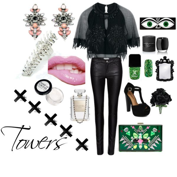 """""""Towers"""" by shaysarai on Polyvore"""