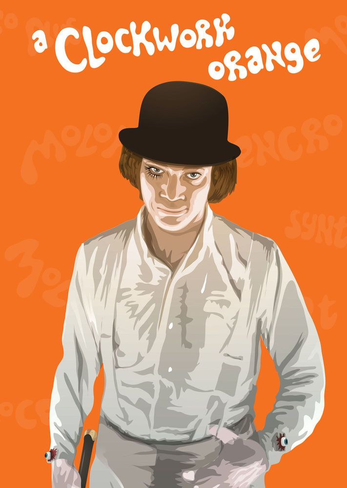 190 best images about ART FOR MY WALLS on Pinterest ... A Clockwork Orange Poster Mondo
