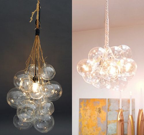 41 best images about lighting on pinterest mercury glass for Diy crystal chandelier lamp