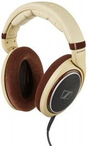 The Sennheiser HD 598 Over-Ear Headphones are not just aesthetically pleasing to the eyes but they also offer impeccable sound quality and incomparable convenience. These beige-coloured, open, circumaural headphones featured high-gloss burl wood parts and matching earpads for a sophisiticated, superior finish.