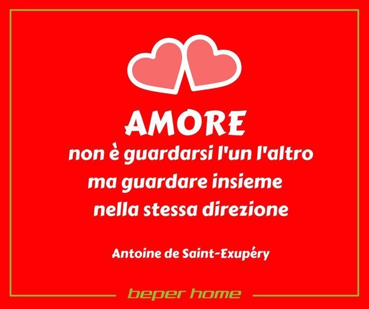 Sei anche tu dello stesso parere?  Buon San Valentino a tutti gli innamorati.  @beperhome #saintvalentine #love #dayoflove #citation #antoinedesaintexupery