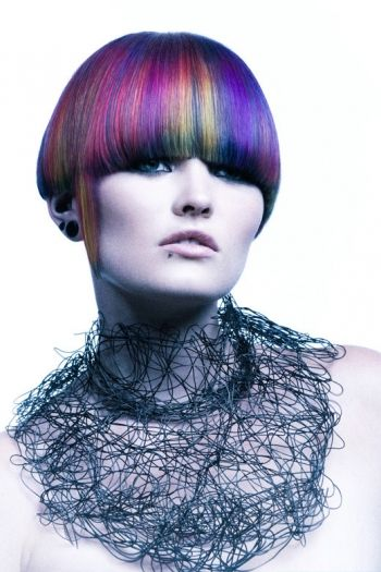 multicolored hair ideas