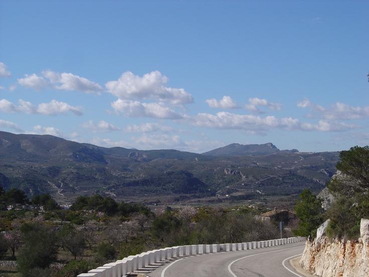 Panorámica de La Vall d'Ebo