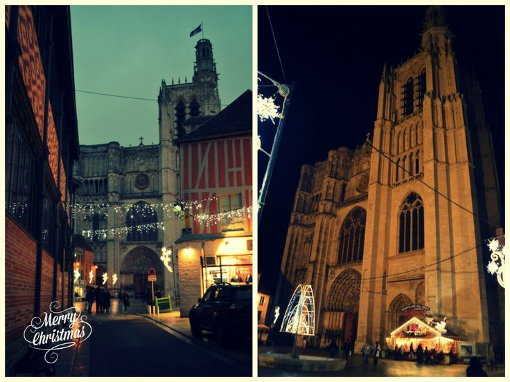 Les illuminations de Noël à Sens !