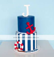 Image result for CHRISTENING CAKES BOYS NAVY