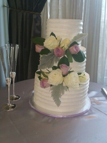 Wedding cake created for Kelvin & Lydia @ Two Cute Chefs