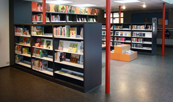 Inrichting van 'de Bibliotheekop school', gevestigd in nieuw schoolgebouwin Zuidland. Sfeervolle bibliotheekruimte waarzowel jeugd als volwassenen zich prima thuis voelen.  Opdrachtgever: de Bibliotheek Zuid-Hollandse Delta Vloeroppervlak: 80m2. Status: Uitgevoerd juli2014