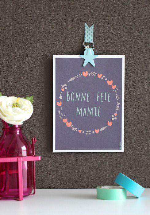 21 best cadeaux et diy f te des grands m res images on pinterest feta f te des m res et. Black Bedroom Furniture Sets. Home Design Ideas