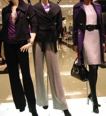 fall career fashion | ... Colors For Fall: Purple, Gray And Black | Career Fashion Weblog