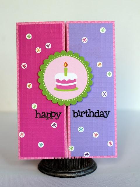 Happy Birthday Gate-Fold Card  by Jing-Jink Nickel