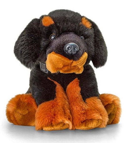 Stuffed Mastiff Dog Toy