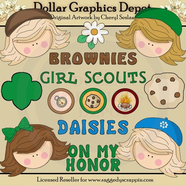 23 best girl scouts clip art images on pinterest for Arts and crafts for brownies