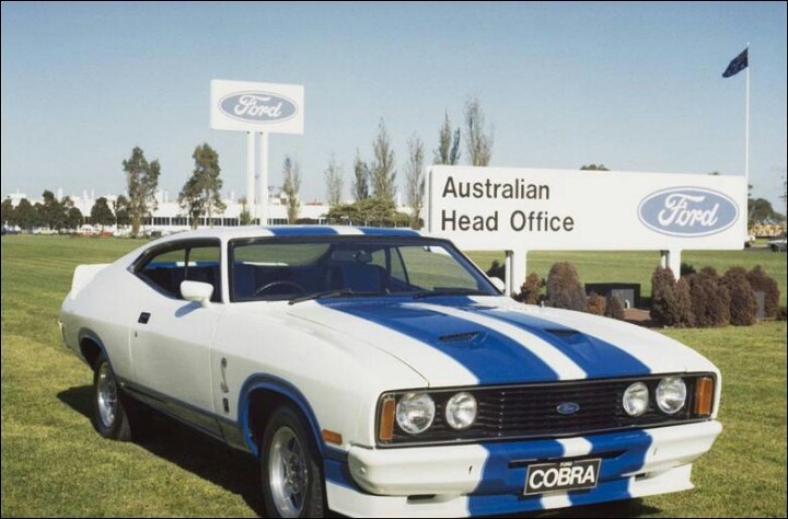 Ford XC Falcon Cobra 2 Door Hardtop. Australian Limited Edition.