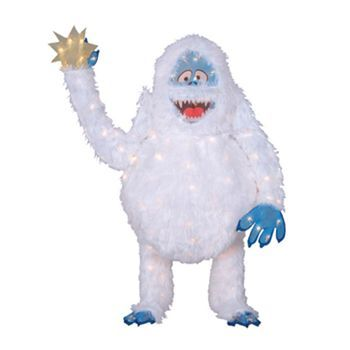 17 best images about abominable on pinterest lawn for Abominable snowman yard decoration