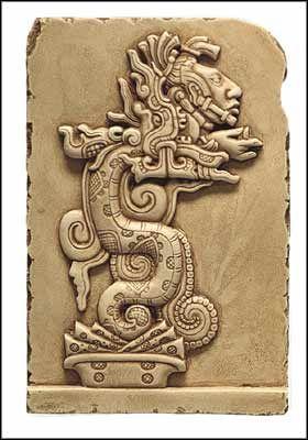 Maya Vision Serpent, Vision Serpent, Maya Art, Maya, precolumbian reproductions, mesoamerican reproductions, mayan art, arte maya.