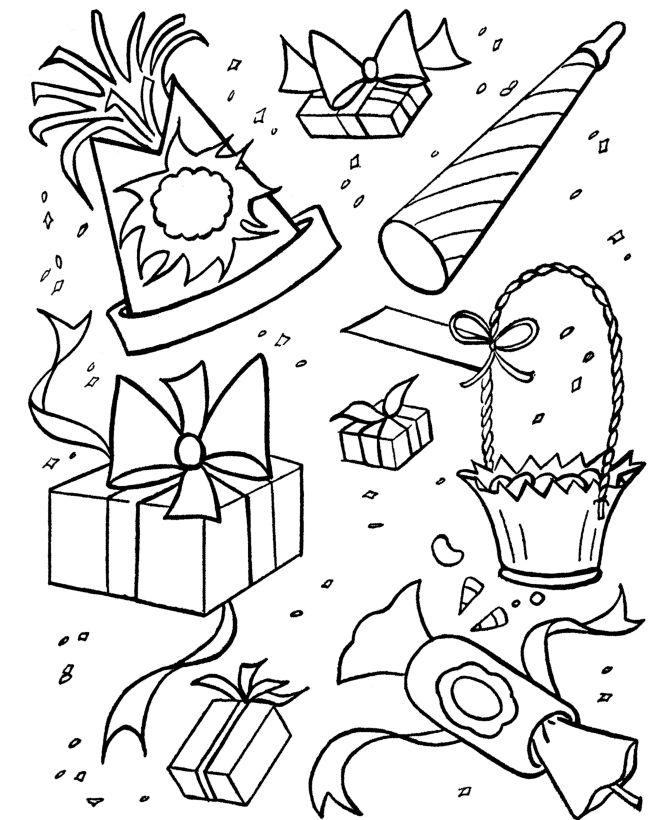 coloriage anniversaire anniversaires coloriage pour les enfants feuilles colorier impression gratuite heureux anniversaire ftes danniversaire - Coloriage Anniversaire