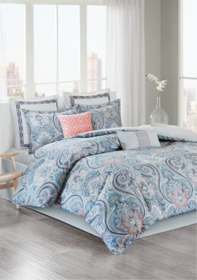 Best 25+ Coral comforter set ideas on Pinterest | Girl ...