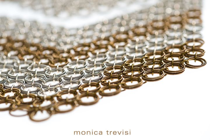 The unmistakable and original little rings pattern of Maru. Only by #monicatrevisi! -- L'inconfondibile e unico intreccio di anellini che creano i #gioielli Maru. Solo gli originali sono by Monica Trevisi! >> http://monicatrevisi.com/shop/?filter_collezione=94