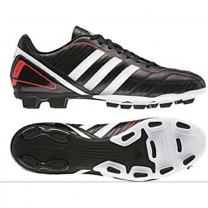 Mens Adidas Davicto Soccer Cleats Black Synthetic - ONLY $39.99