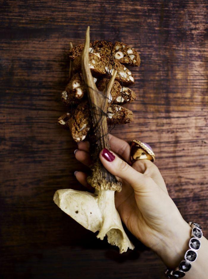 Pähkinäiset muscovadocantuccinit