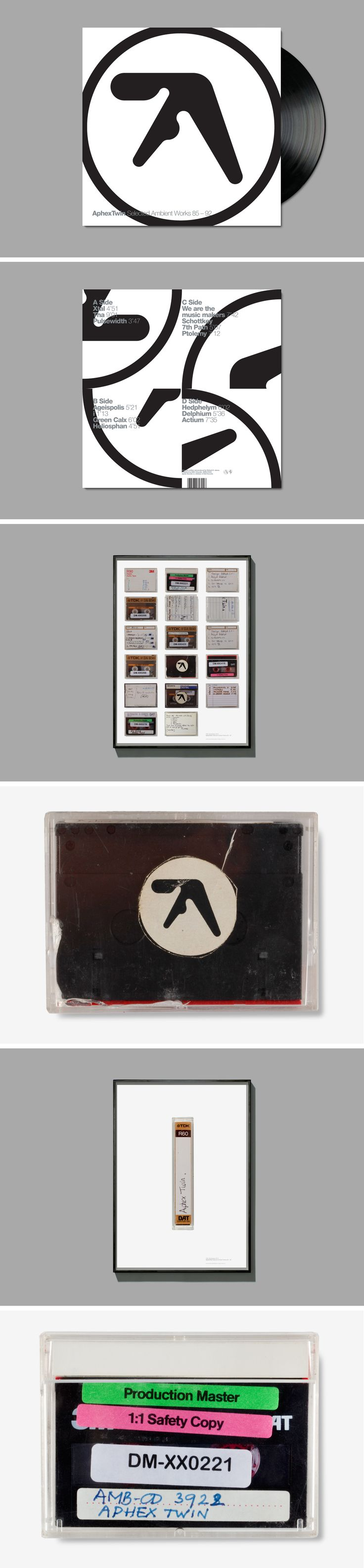 Selected Vol 2 in 99 was really the first time I noticed graphic design.  Format – LP re-work Posters  Client – Apollo/R&S Records  Info – Original Design  Unknown   Photogra...
