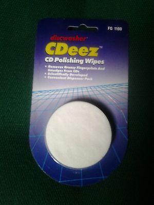 Discwasher CDeez CD Polishing Wipes