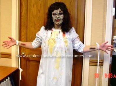 homemade exorcist scary halloween costumes i wanted to make a unique costume that people would