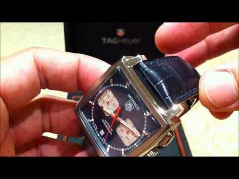 Tag Heuer Monaco Steve McQueen - YouTube