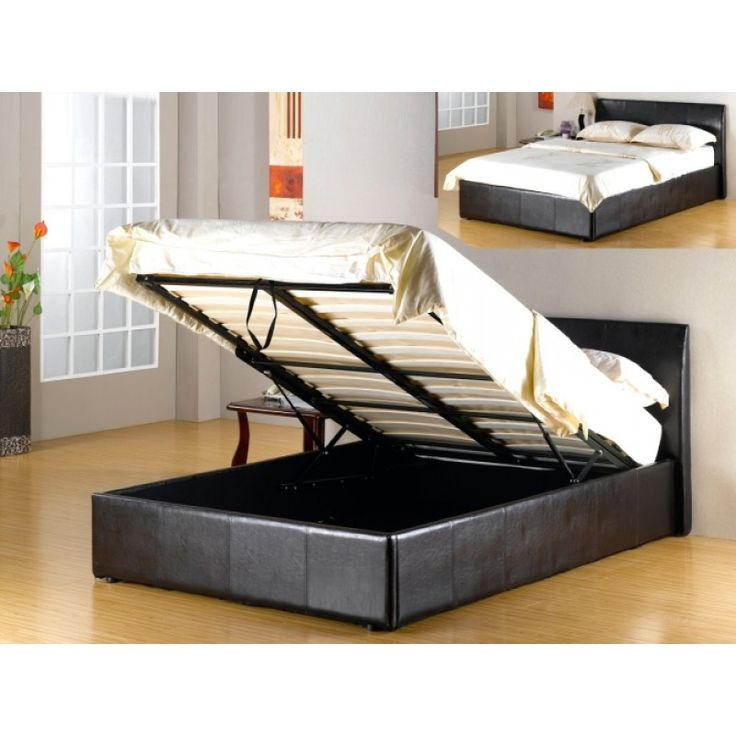 90 mejores imágenes de Leather Beds en Pinterest | Marco de la cama ...