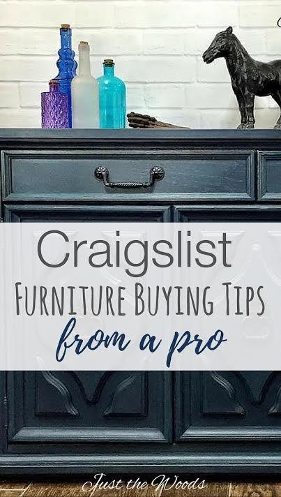 Craigslist Tips For Furniture Flippers. Safely Buy Furniture On Craigslist.