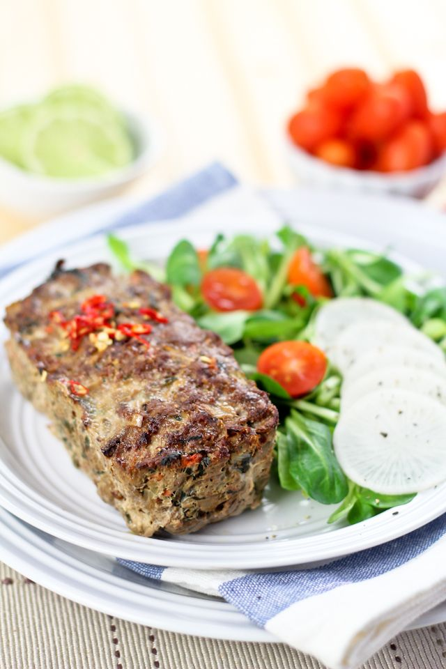 Vegetable Overload Individual Meatloaves | by Sonia! The Healthy Foodie