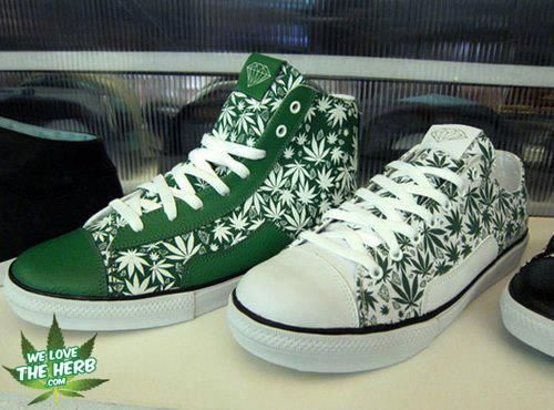 Adidas Pot Leaf Shoes