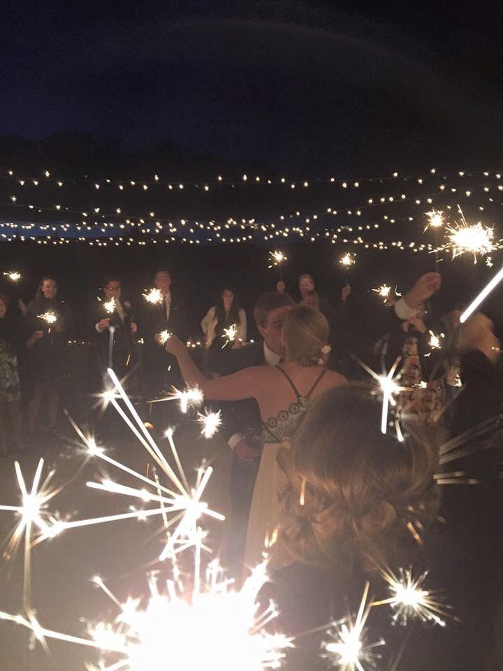 First Dance under the stars