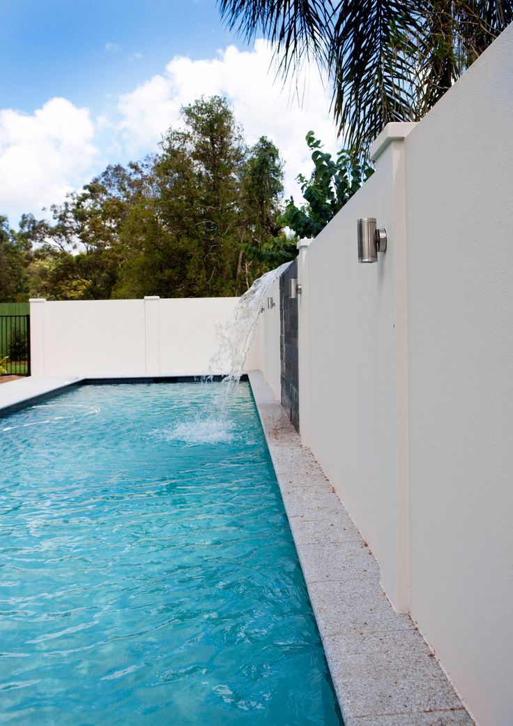 a water feature will never cease to reach the wow factor