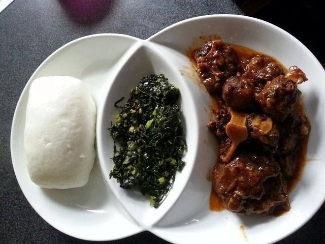 Sadza and oxtail multiculteral food pinterest oxtail for Cuisine zimbabwe