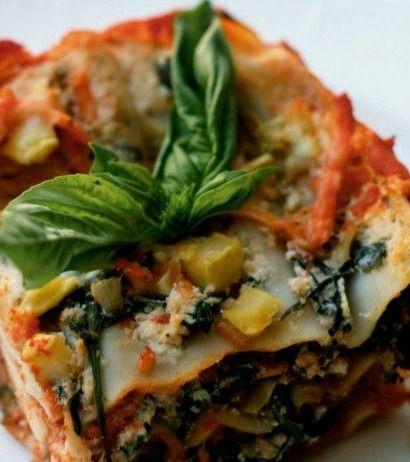 Recipe For  Vegetable Lasagna