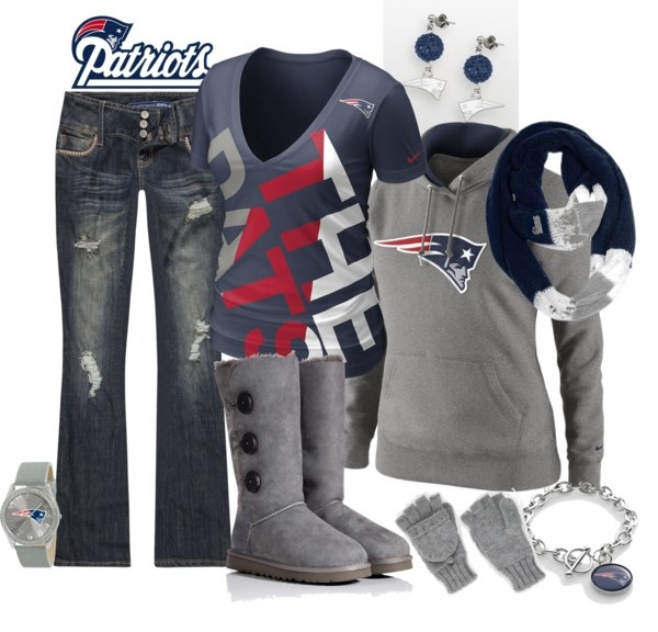 """""""NE Patriots Tailgating!"""" by fabulousego ❤ liked on Polyvore"""